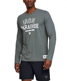 1346101-012 UNDER ARMOUR PROJECT ROCK IRON PARADISE LONG SLEEVE