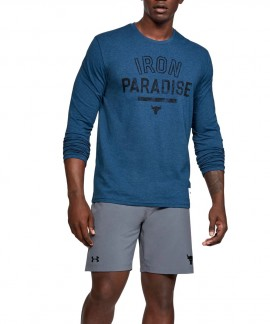 1346101-480 UNDER ARMOUR PROJECT ROCK IRON PARADISE LONG SLEEVE