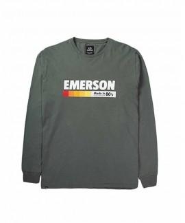 192.EM31.23-025 EMERSON MEN'S L/S T-SHIRT (ARMY GREEN)