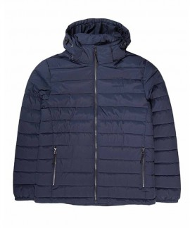 192.EM10.131-008 EMERSON MEN'S P.P.DOWN JACKET WITH HOOD (RPS NAVY BLUE)