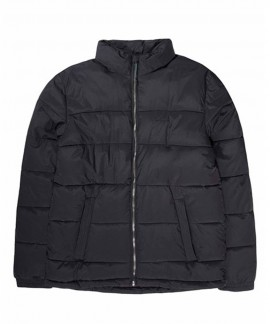 192.EM10.65-002 EMERSON MEN'S P.P. DOWN JKT WITH ROLL-IN HOOD (RPS BLACK)