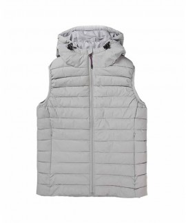 192.EW10.114-004 EMERSON WOMEN'S P.P. DOWN VEST JKT WITH HOOD (RPS ICE)