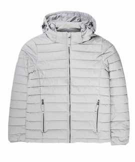 192.EW10.132-004 EMERSON WOMEN'S P.P.DOWN JACKET WITH HOOD (RPS ICE)
