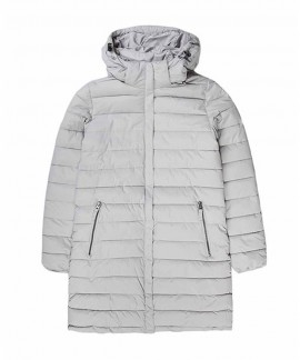 192.EW10.82-004 EMERSON WOMEN'S LONG P.P.DOWN JKT,DET/BLE HOOD (RPS ICE)