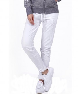 021954-WHITE BODY ACTION WOMEN SKINNY JOGGERS