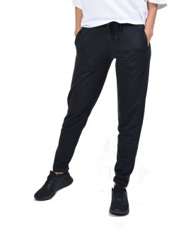 021954-BLACK BODY ACTION WOMEN SKINNY JOGGERS
