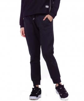 021956-BLACK BODY ACTION WOMEN RELAXED JOGGERS