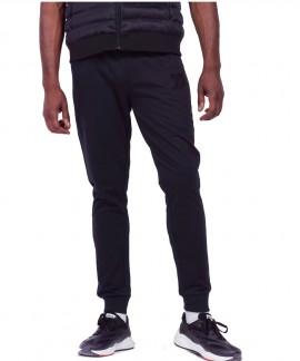 023945-BLACK BODY ACTION MEN BASIC SWEAT PANTS