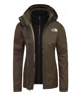 NF00CG56BQW THE NORTH FACE W EVOLVE IITRICLIMATE JACKET
