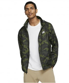 BV2979-331 NIKE NSW CE JACKET HD WINDBREAKER CAMO