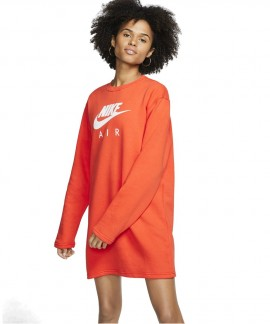 BV5134-891 NIKE AIR DRESS (ORANGE)