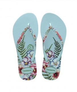 4141852-0642 HAVAIANAS SLIM SENSATION (ICE BLUE)