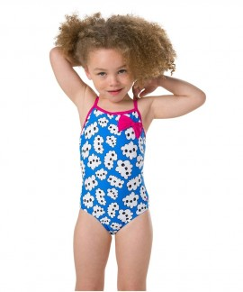11446-C706B SPEEDO BOW SWIMSUIT