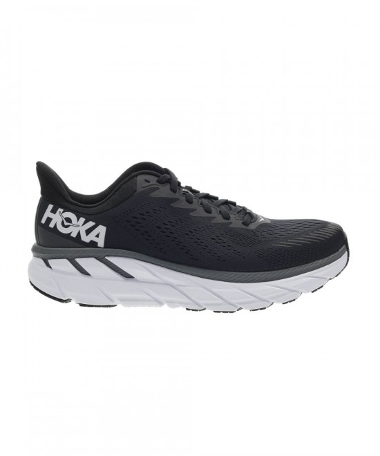1110534-BWHT HOKA ONE ONE CLIFTON 7 WIDE