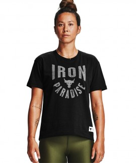 1356953-001 UNDER ARMOUR PROJECT ROCK GRAPHIC SS T-SHIRT