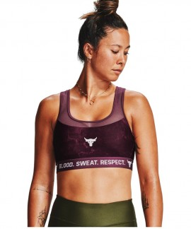 1356963-569 UNDER ARMOUR PROJECT ROCK SPORTS BRA