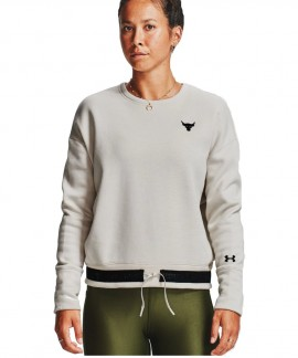 1357059-110 UNDER ARMOUR PROJECT ROCK CHARGED FLEECE CREW