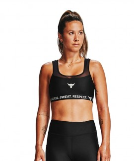 1359258-001 UNDER ARMOUR PROJECT ROCK 3 SPORTS BRA
