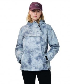 202.EW10.62-012 EMERSON W  PULLOVER JACKET WITH HOOD (GREY)