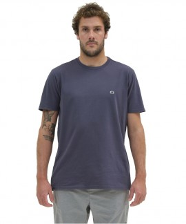 211.EM33.79-018 EMERSON BASIC T-SHIRT (BLUE)