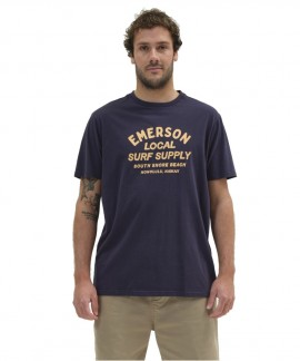 211.EM33.07-007 EMERSON LOCAL SURF SUPPLY T-SHIRT (NAVY BLUE)