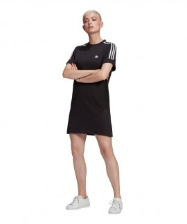 GN2777 ADIDAS ADICOLOR CLASSICS ROLL-UP SLEEVE TEE DRESS