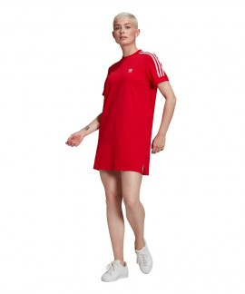 GN2778 ADIDAS ADICOLOR CLASSICS ROLL-UP SLEEVE TEE DRESS