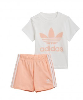 GN8192 ADIDAS TREFOIL SHORTS TEE SET
