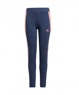 GN1449 ADIDAS DESIGNED TO MOVE LEOPARD TIGHTS