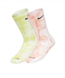 DM3407-904 NIKE EVERYDAY PLUS CUSHIONED TIE-DYE CREW SOCKS