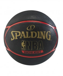 83-195Z1 SPALDING HIGHLIGHT RED  RUBBER