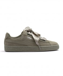 365210-02 PUMA SUEDE HEART PEBBLE WN'S