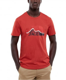 T0A3G2ZBN THE NORTH FACE MOUNTAIN LINE T-SHIRT