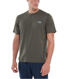 T93RX3HSG THE NORTH FACE REAXION AMP CREW T-SHIRT